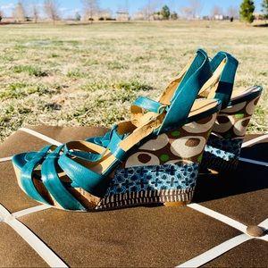 Nine West Wedge Sandals